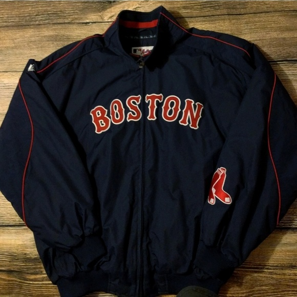 new concept 14b00 c2b8a Majestic Other - Men s Boston Red Sox Majestic Dugout Jacket XL